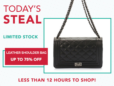 designer purse sale zn4e  Today's Steal: Leather Bags